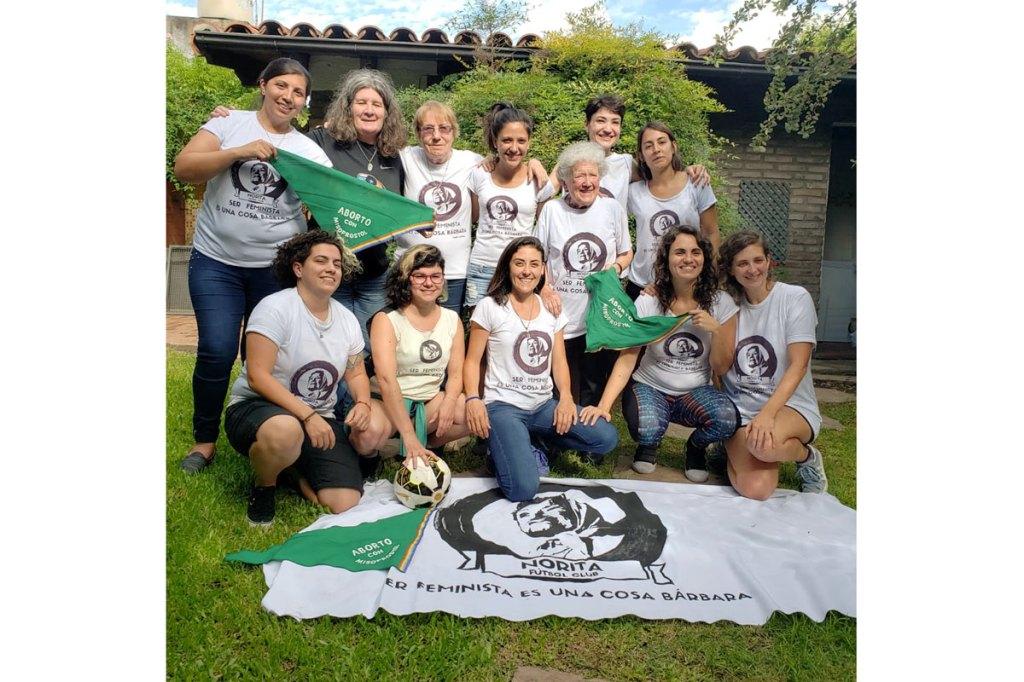Norita FC de Buenos Aires es un club de fútbol feminista. Quieren crear espacios seguros para que las niñas jueguen al balompié.